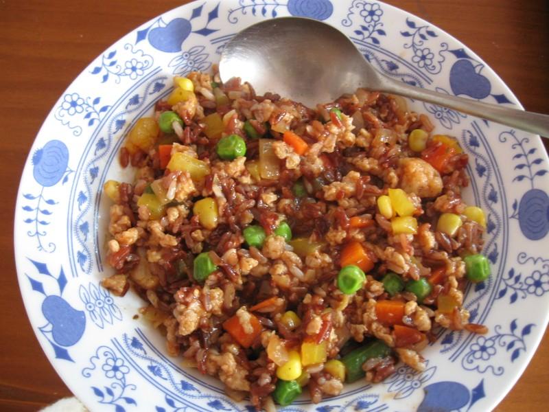 Zdravé sójové rizoto