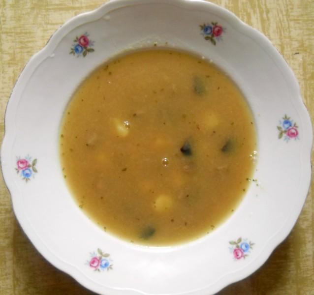 Houbová polévka nejen pro muže