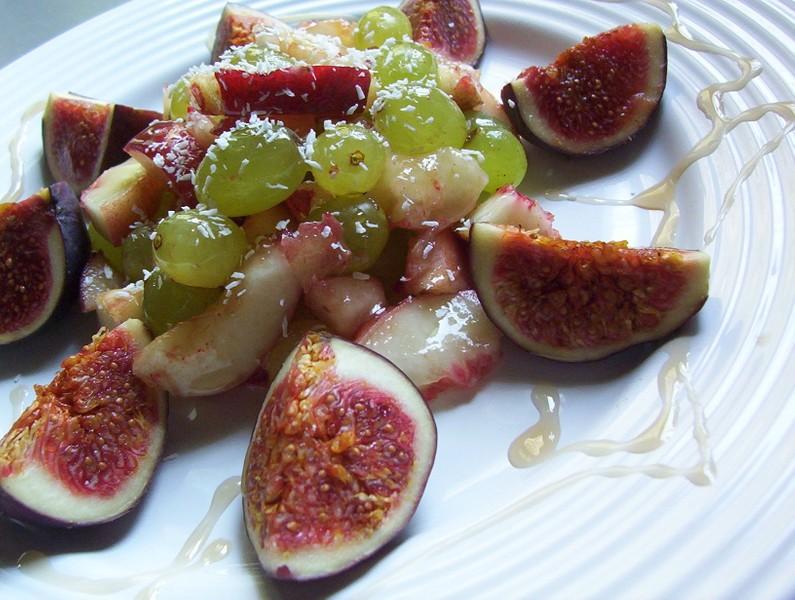 Vitamínový salát s fíky
