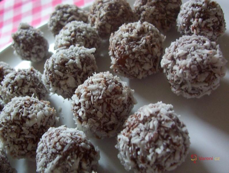 Kuličky v čokoládě