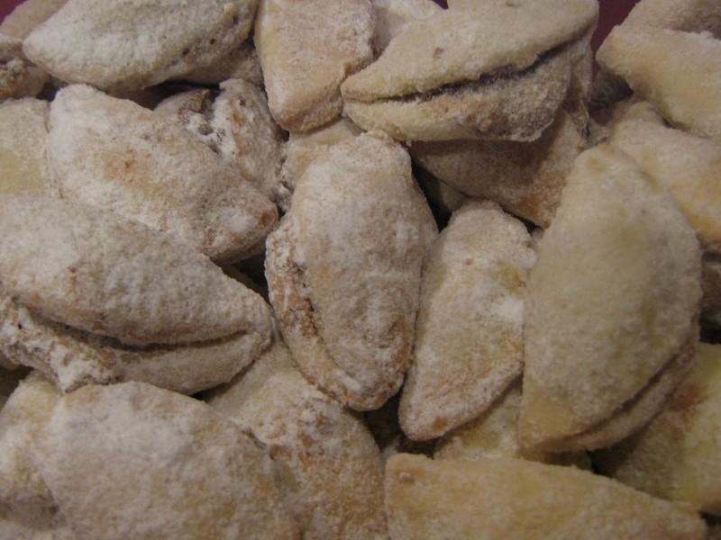 Vánoční ořechové škebličky