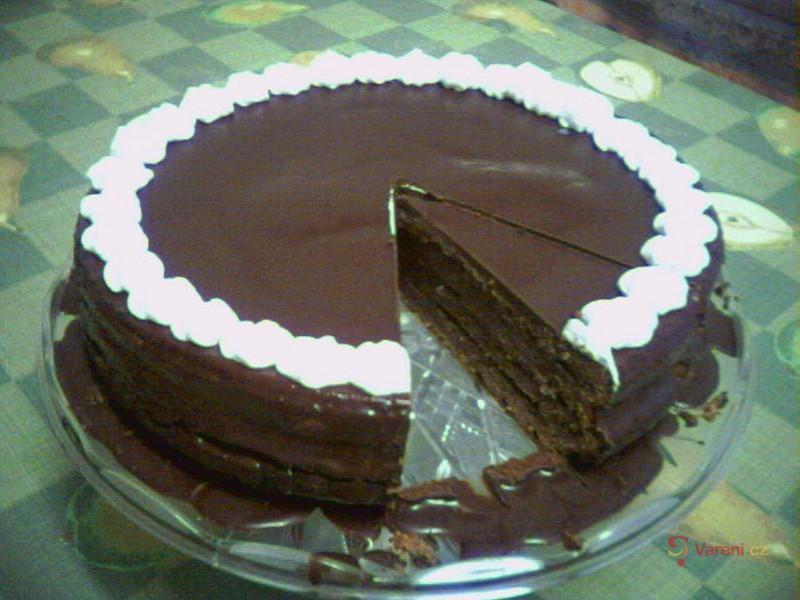 Sacherův dort