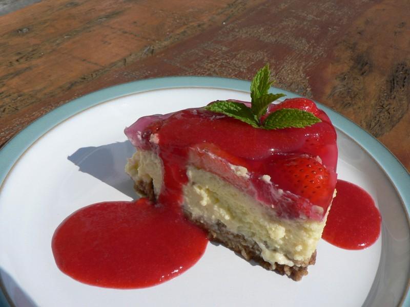 Jahodový dezert Tivoli strada