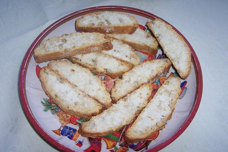 Židovský mandlový chlebíček