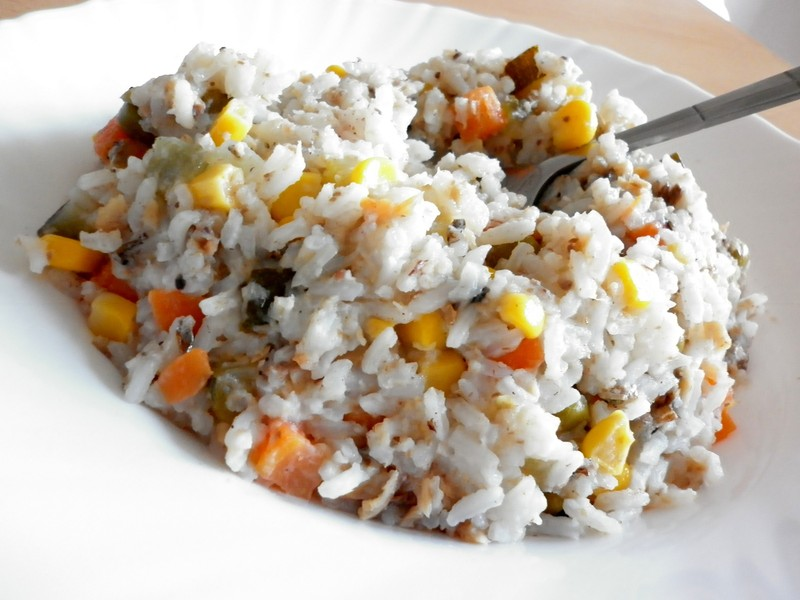 Šťavnatá zeleninová rýže