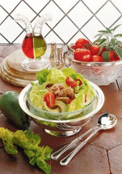 Avokádový salát s lopinem