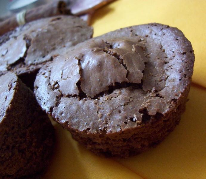 Čokoládové muffiny s překvapením
