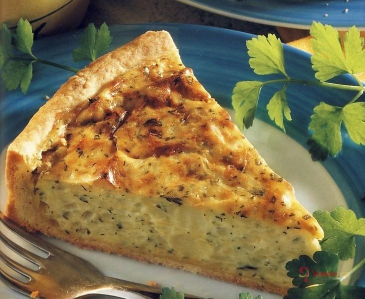 Slaný bramborový koláč