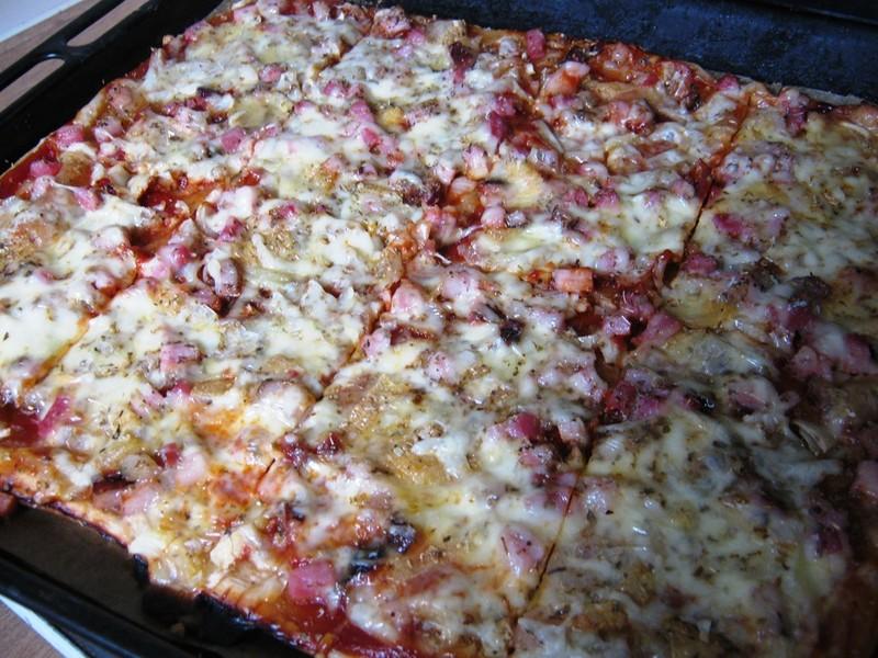 Listová pizza s romadúrem