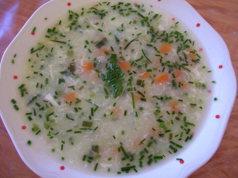 Slavnostní pórková polévka