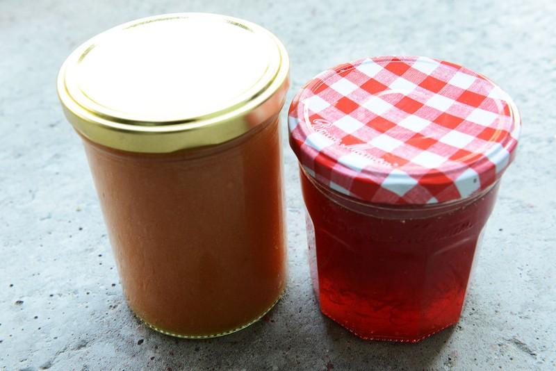Marmeláda z kdoulí a pomerančové želé