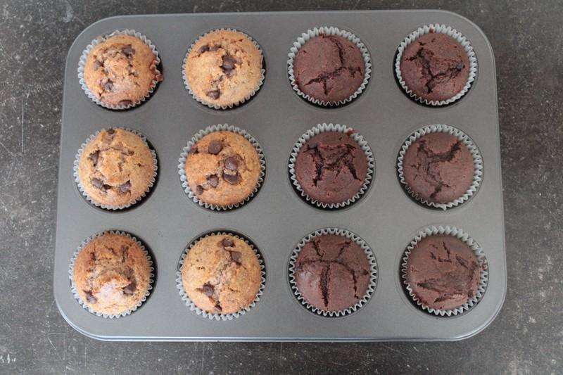 Nenáročné oříškové muffiny