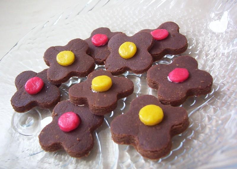 Kakaové kytičky
