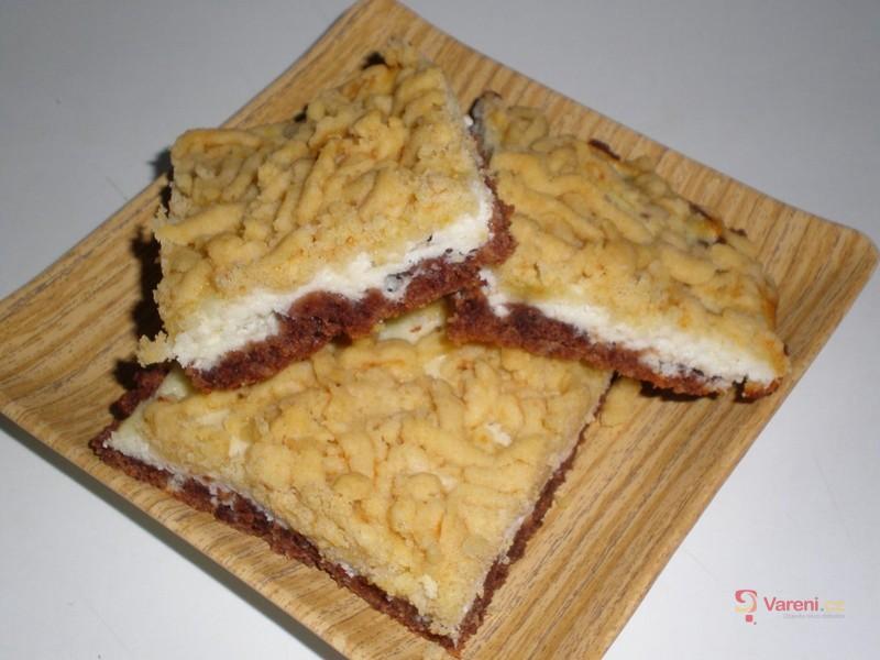 Tvarohový strouhaný koláč