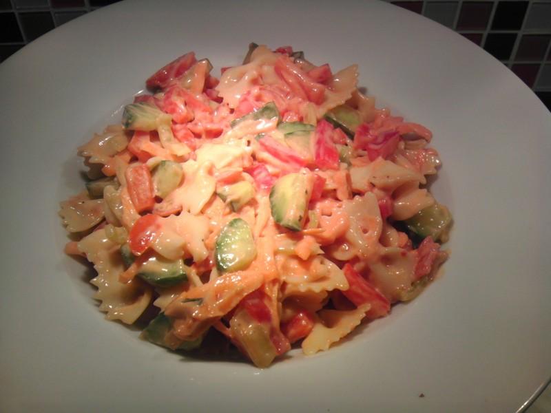 Těstovinový salát se super zálivkou