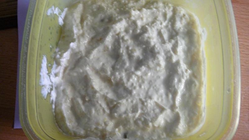 Dietní tvarohovo-česneková pomazánka