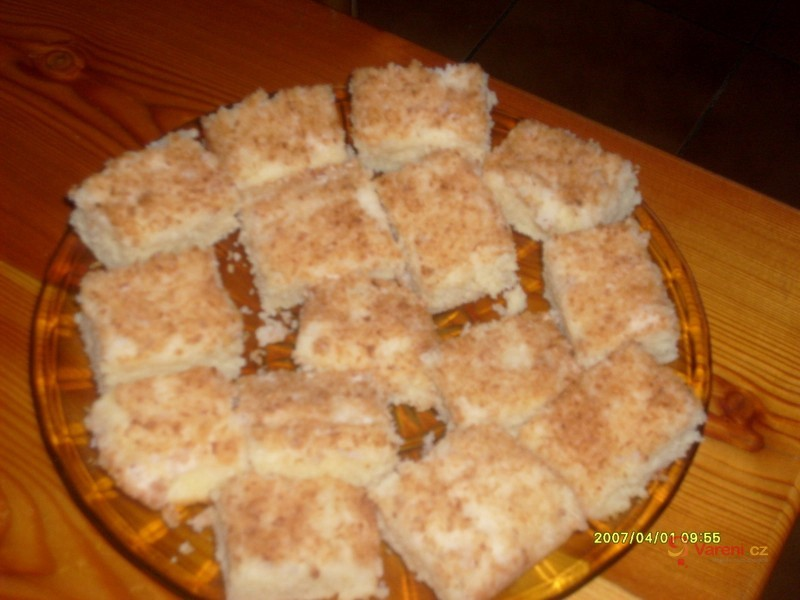 Kokosové řezy rafaello