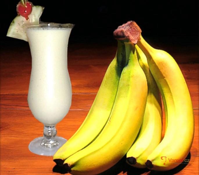 Banánový punč