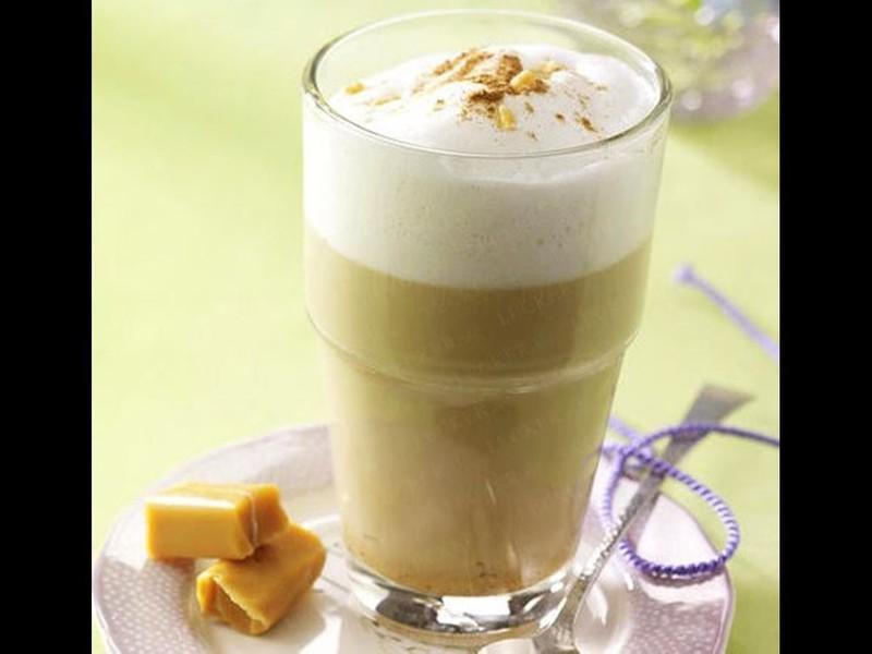 Karamelová káva