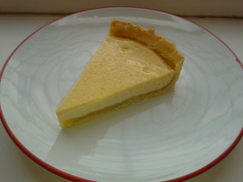 Francouzský tvarohový koláč