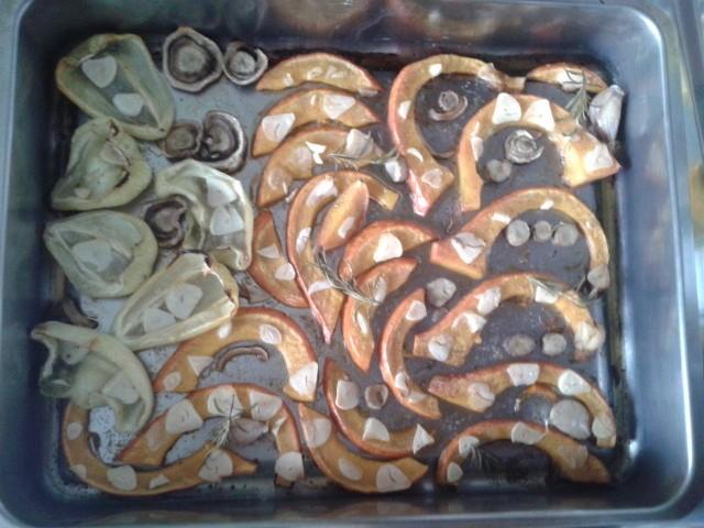 Pečená zelenina na rozmarýnu