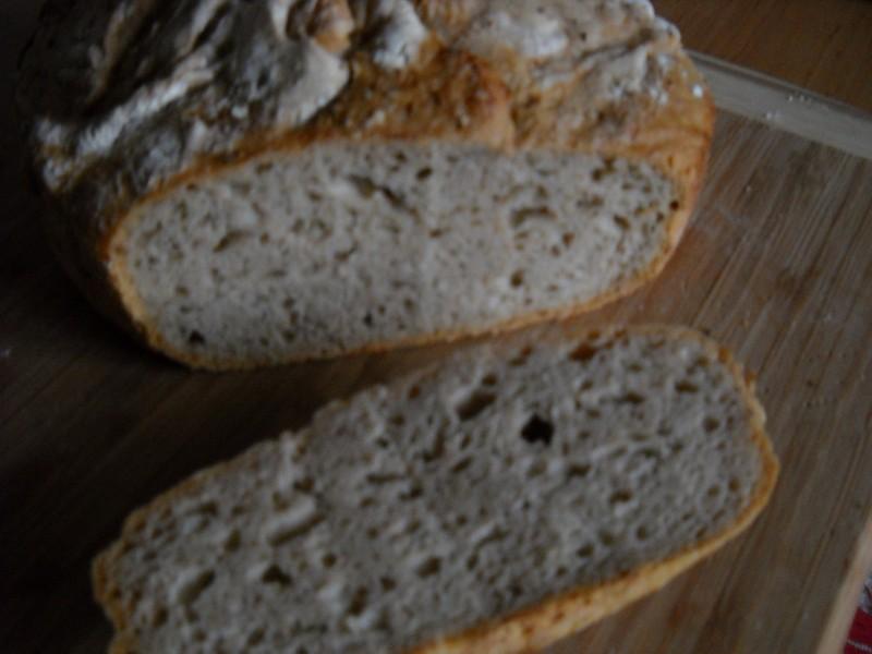 Bramborový chléb z hrnce