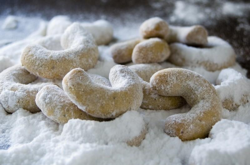 Lahodné vanilkové rohlíčky