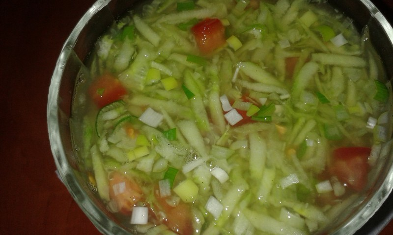 Image result for okurkový salát s rajčaty