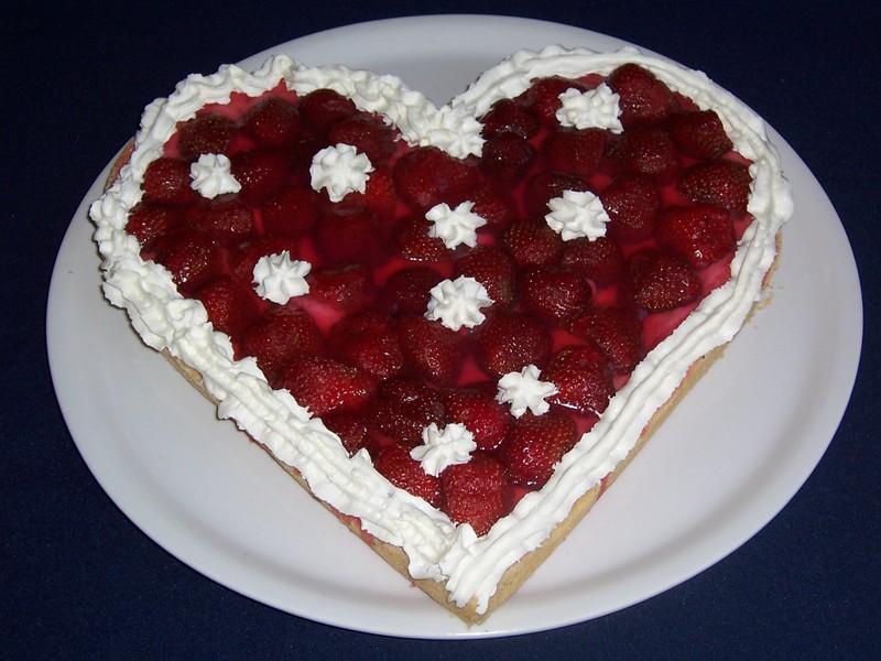 Jahodové srdce