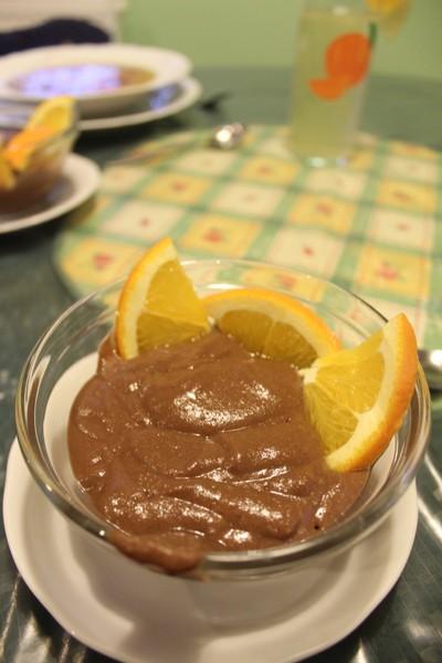 Raw kakaový pudink