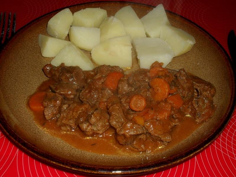 Hovězí s mrkví