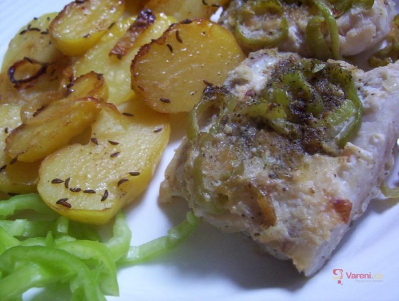 Filé na paprice a bramborách