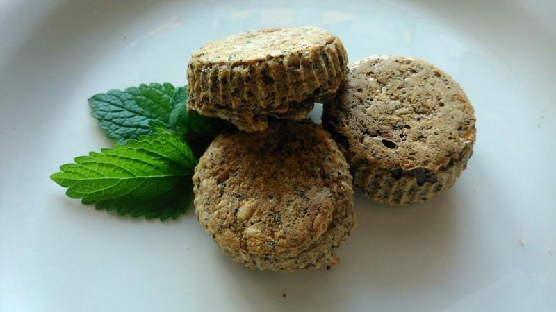 Sušenky z jemných ovesných vloček