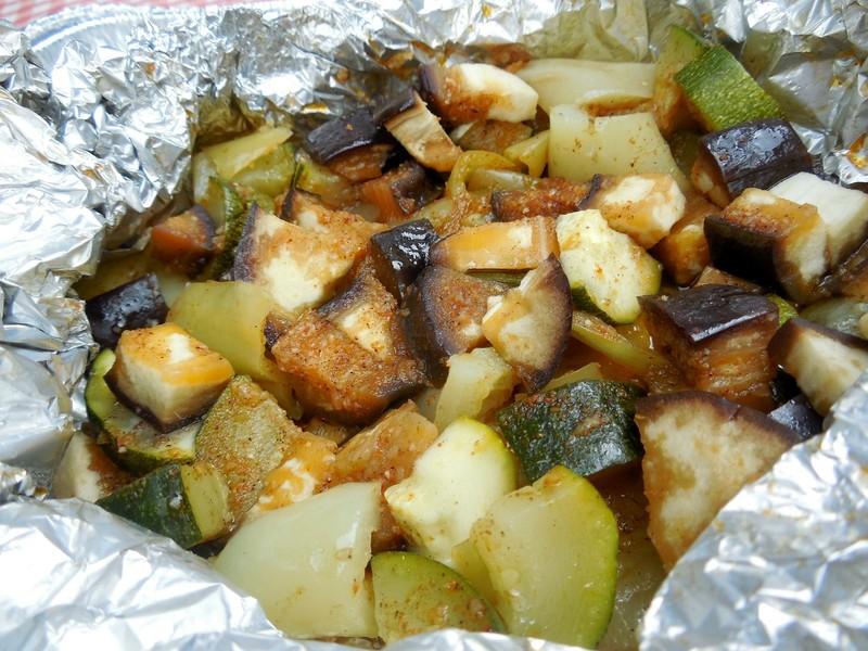 Zeleninové překvapení na grilu