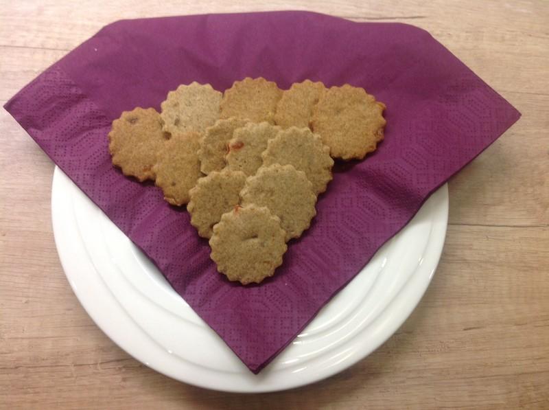 Špaldovo-pohankové sušenky