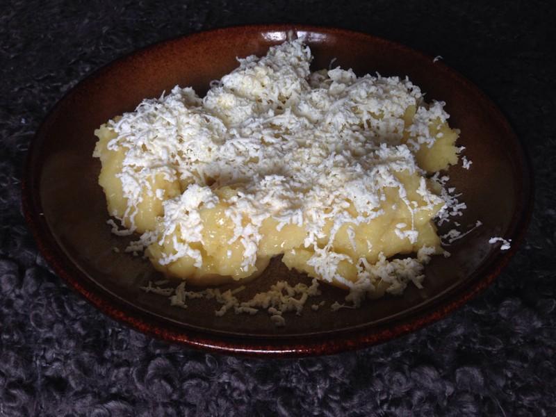 Škubánky s tvarohem na slano