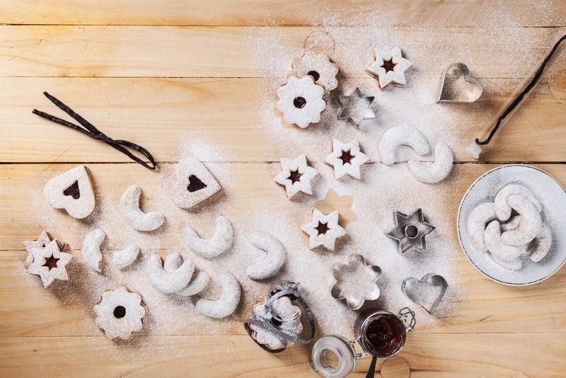 Výborné bezlepkové vanilkové rohlíčky