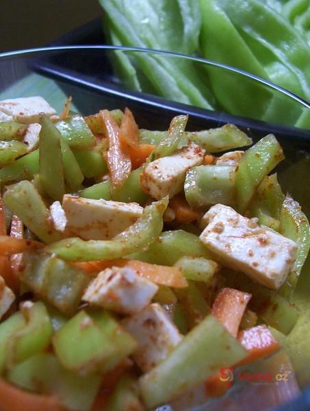 Paprikový salát s karotkou