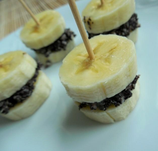 Banánovo-makové jednohubky