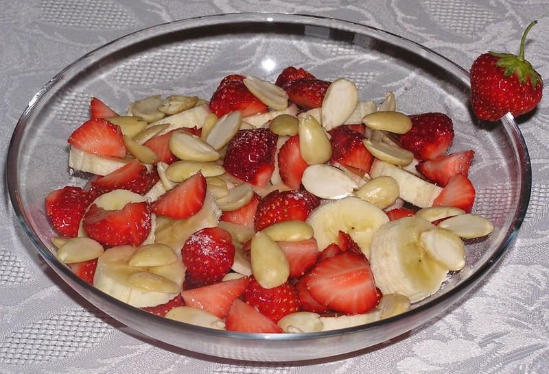Ovocný salát pro doplnění energie