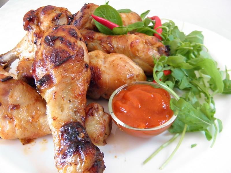 Marinované kuřecí paličky