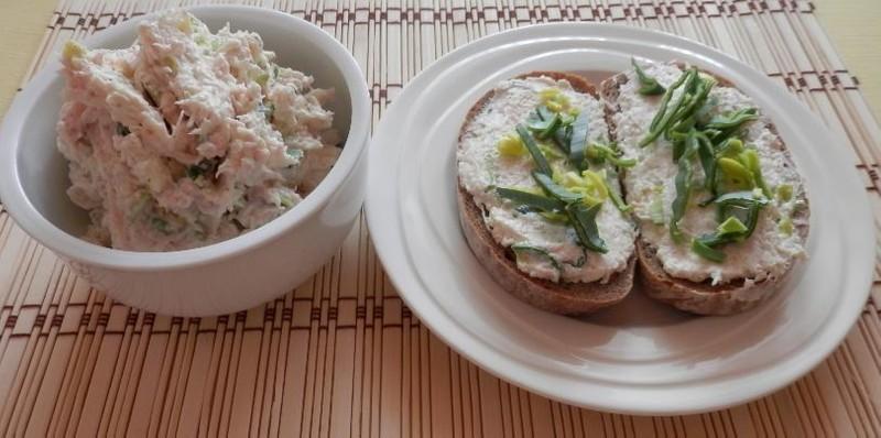 Celerová pomazánka s pomazánkovým máslem