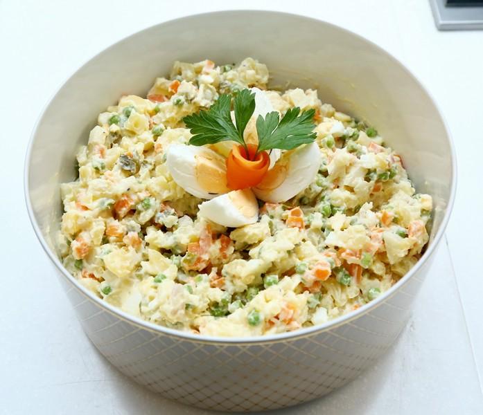 Chutný bramborový salát