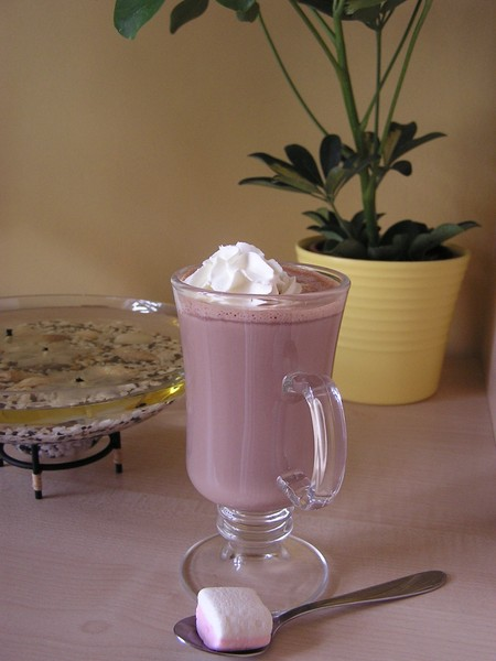 Krémová horká čokoláda