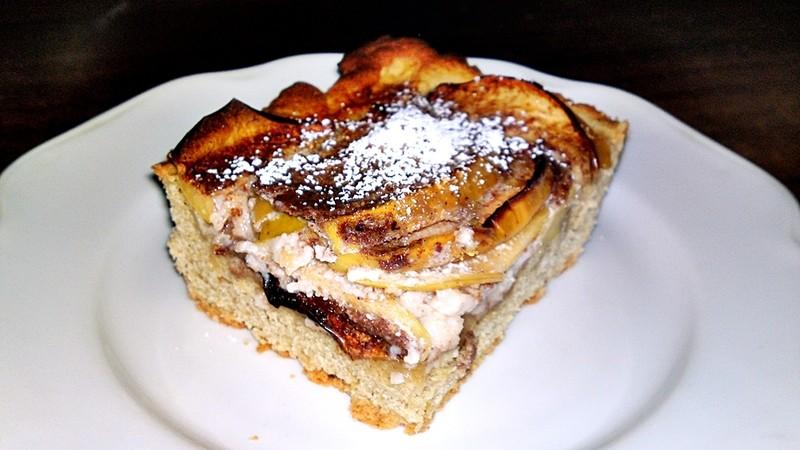Finský jablečný koláč