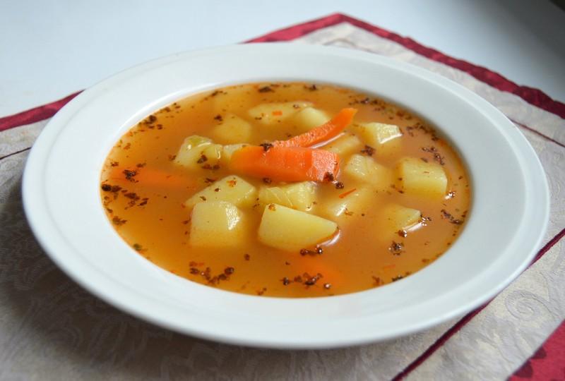 Podzimní bramborová polévka