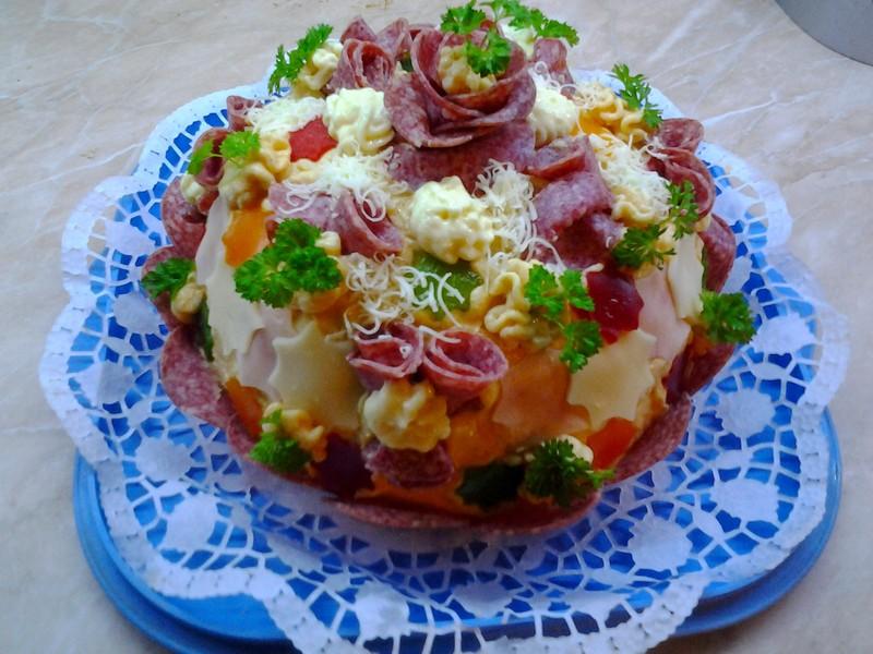 Chlebový dort Hostim