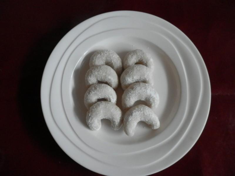 Vanilkové rohlíčky vánoční