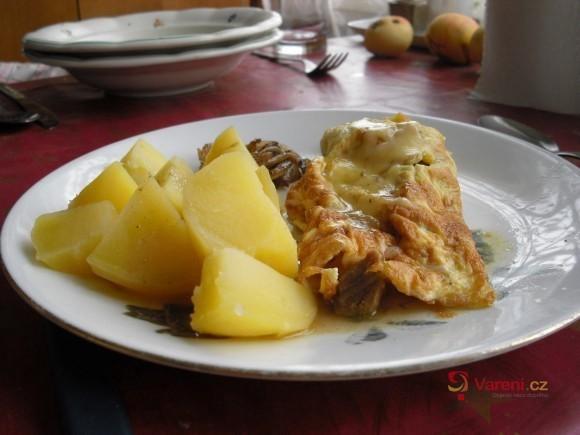 Kari omelety s masem