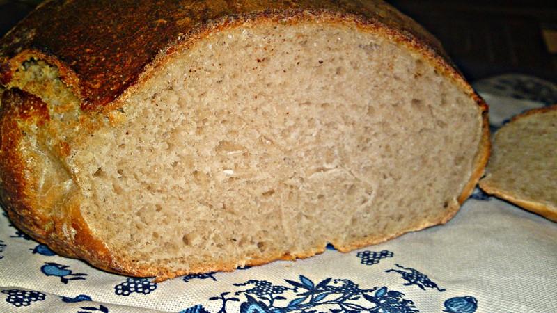 Můj první domácí kváskový chléb